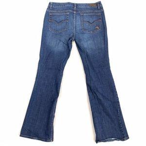 Harley-Davidson Distress Wash Bootcut Denim Jeans